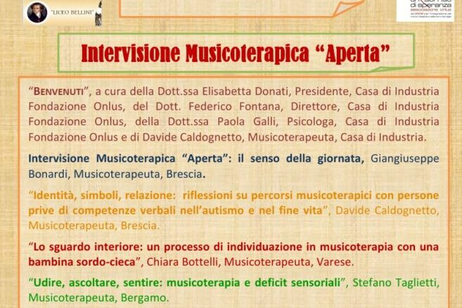 MT DAY 2019 - Intervisione musicoterapica aperta