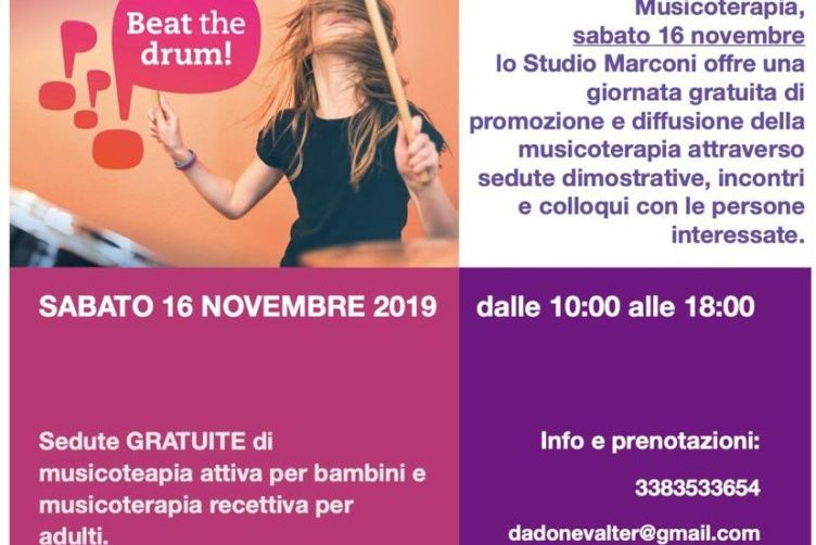 MT DAY 2019 - Da Zero a cento: musicoterapia per tutti!