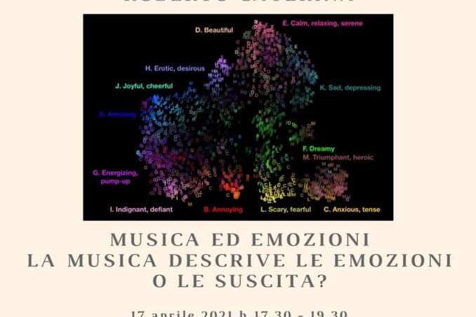 """""""Musica ed emozioni. La musica descrive le emozioni o le suscita?"""""""